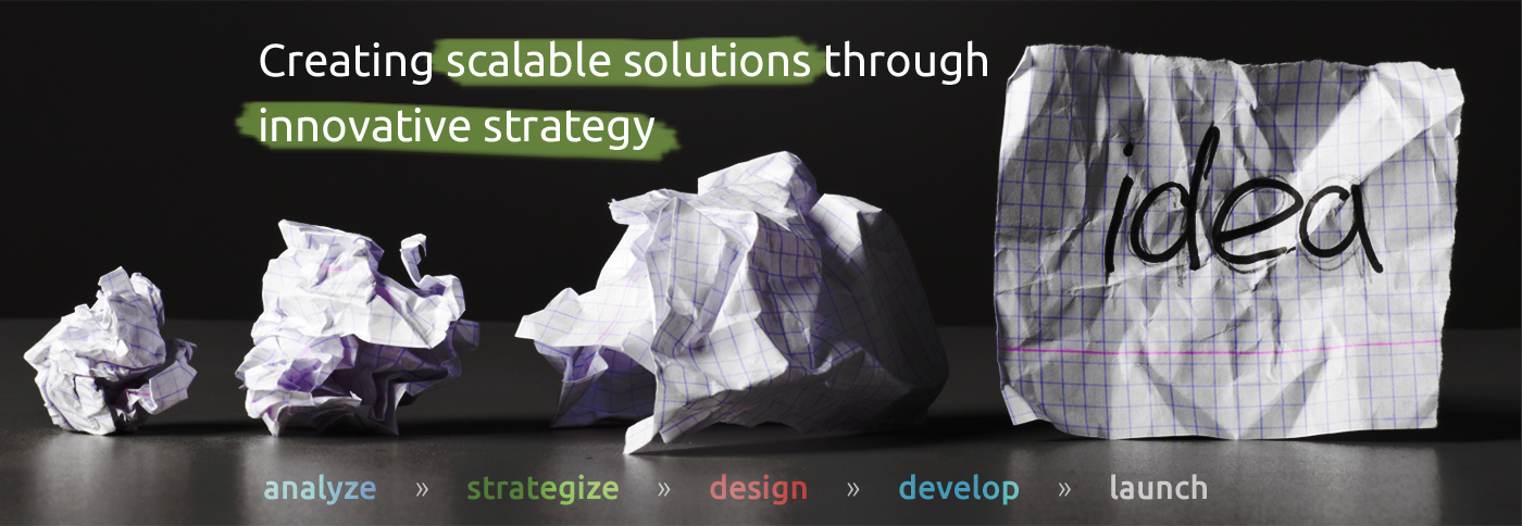 Creating scalable solutions through innovative strategy.